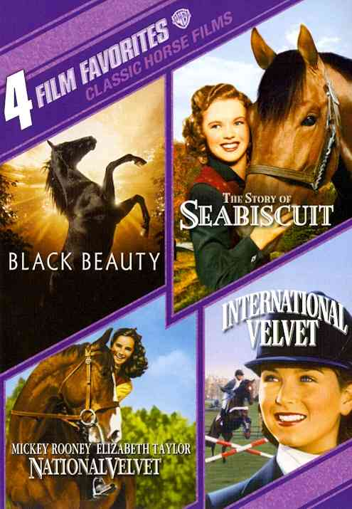 4 FILM FAVORITES:CLASSIC HORSE FILMS (DVD)
